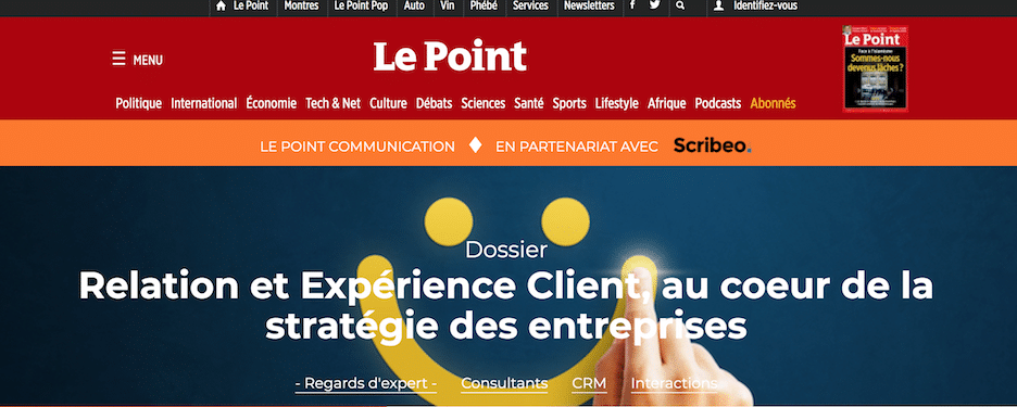 Le Point - CX Lab